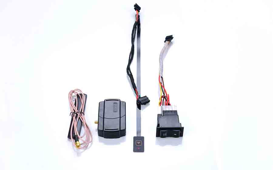 Warmda hydronic heater control panel