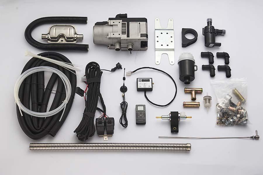 Gasoline Water Heater Installation Kit